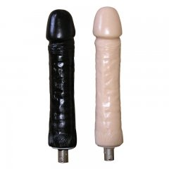 Automatic Sex Machine Attachment Big Black Dildo Silicone Dildo 26cm Length 5.5cm Width